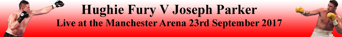 Hughie Fury V Joseph Parker at the Manchester Arena