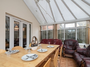 Conservatory with Comfortable Seating
