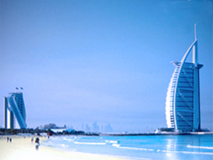 Burj Al Arab Hotel, less then 15 minutes drive away from the apartment