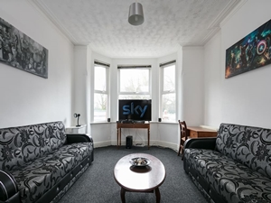 Large living area freeview tv