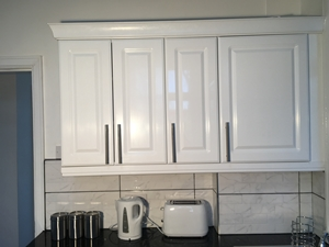Gloss White Kitchen units