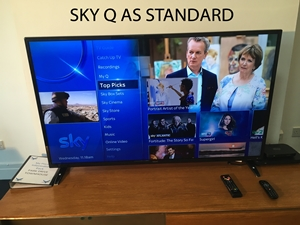 Sky Q installed as a standard feature